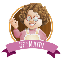 Mum's Home Baked  - Apple Muffin 80VG/20PG - 30ml (3 x 10ml) **OUT OF DATE**