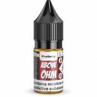 Above-Ohm - Blueberry Flavour E-Liquid Refill Bottle 10ml
