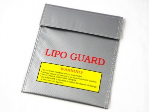 LiPO Fireproof Safety Guard Bag  (230 x 180mm)
