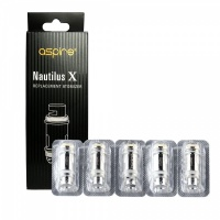 Aspire Nautilus X 1.8 ohm Replacement Coils (5 Pack)