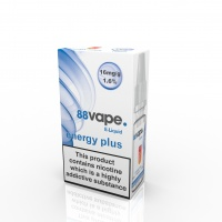 88 Vape - Energy Plus Flavour E-Liquid Refill Bottle 10m