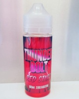 Thunder Bolt - Red Stars  - 100ml Short Fill  - 0mg