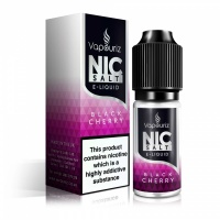 Vapouriz  'Nic Salts' Black Cherry E-Liquid 10ml Bottle