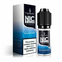 Vapouriz  'Nic Salts' Blueberry E-Liquid 10ml Bottle