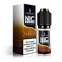 Vapouriz  'Nic Salts' - Classic Tobacco E-Liquid 10ml Bottle