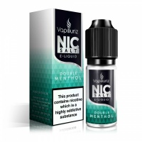 Vapouriz  'Nic Salts' Double Menthol E-Liquid 10ml Bottle
