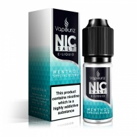 Vapouriz  'Nic Salts' Menthol Special Blend E-Liquid 10ml Bottle