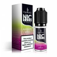 Vapouriz  'Nic Salts' Raspberry & Apple E-Liquid 10ml Bottle