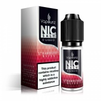 Vapouriz  'Nic Salts' Strawberry Bliss E-Liquid 10ml Bottle