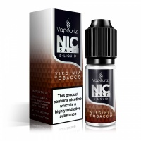 Vapouriz  'Nic Salts' - Virginia Tobacco E-Liquid 10ml Bottle